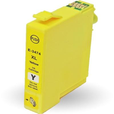 Epson T3474 žltá (yellow) kompatibilna cartridge