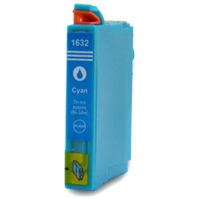 Epson T1632 XL azúrová (cyan) kompatibilná cartridge