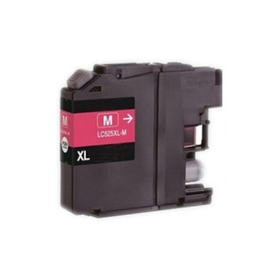 Brother LC-525XL purpurová (magenta) kompatibilná cartridge