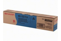 Sharp MX-70GTCA azúrový (cyan) originálny toner