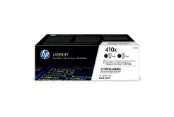 HP 410X CF410XD 2ks čierný (black) originálny toner