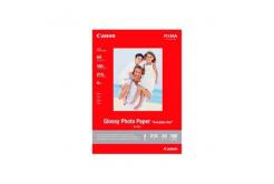 Canon Photo paper Glossy, foto papír, lesklý, bílý, A4, 210 g/m2, 100 ks, GP-501 A4, inkoustový