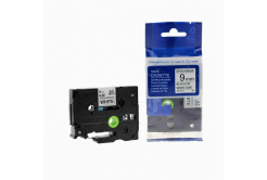 Kompatibilná páska s Brother TZ-S221/TZe-S221 9mm x 8m extr.adh. čierna tlač/biely podklad