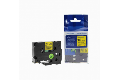 Kompatibilná páska s Brother TZ-641 / TZe-641, 18mm x 8m, čierna tlač / žltý podklad