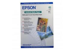 Epson Archival Matte Paper, bílá, 50, ks C13S041344, pro inkoustové tiskárny, 297x420mm (A3), A