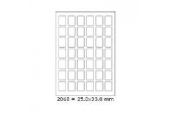Samolepiace etikety 25 x 33 mm, 42 etikiet, A4, 100 listov