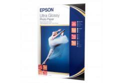 Epson Ultra Glossy Photo Paper, foto papír, lesklý, bílý, R200, R300, R800, RX425, RX500, 13x18