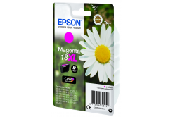 Epson originálna cartridge C13T18134022, T181340, 18XL, magenta, 6,6ml, Epson Expression Home XP-102, XP-402, XP-405, XP-302