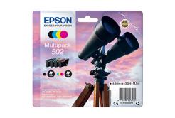 Epson originálna cartridge C13T02V64020, 502, T02V640, CMYK, 550 str., 3x3.3/4.6ml, Epson XP-5100, XP-5105, WF-2880dwf, WF2865dwf
