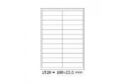 Samolepiace etikety 70 x 48 mm, 18 etikiet, A4, 100 listov