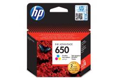 HP 650 CZ102AE barevná originálna cartridge