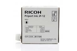 Ricoh originálna cartridge JP 12, black, 600ml, 817104, Ricoh DX3240, 3440, JP1210, 1215, 1250, 1255, 3000