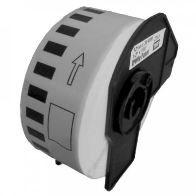 Brother DK-22214, 12mm x 30,48m, kompatibilná role etikiet