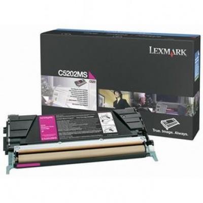Lexmark C5202MS purpurový (magenta) originálny toner
