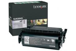 Lexmark 12A5845 čierný (black) originálny toner