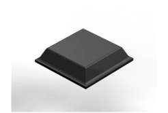 3M Bumpon SJ5008 černý, plato = 80 ks