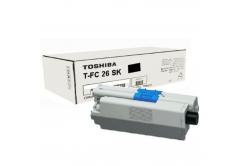 Toshiba TFC26SK, 6B000000559 čierný (black) originálný toner
