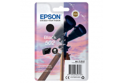 Epson originálna cartridge C13T02V14020, T02V140, 502, black, 210 str., 4.6ml, Epson XP-5100, XP-5105, WF-2880dwf, WF2865dwf