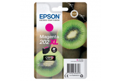Epson 202XL C13T02H34010 purpurová (magenta) originálna cartridge