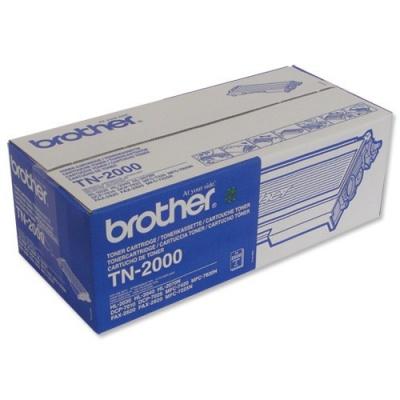 Brother TN-2000 čierný (black) originálný toner