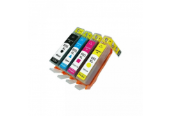 HP 655XL Bk+C+M+Y multipack kompatibilní cartridge