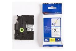 Brother TZ-FX231 / TZe-FX231, 12mm x 8m, čierna tlač/biely podklad, originálna páska