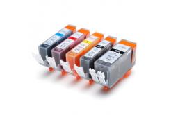 Canon CLI-521 Bk, C,M,Y + PGI-520Bk multipack kompatibilná cartridge