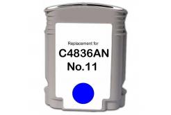 HP č.11 C4836A azúrová (cyan) kompatibilna cartridge