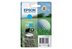 Epson originálna cartridge C13T34724010, T347240, cyan, 10.8ml, Epson WF-3720DWF, 3725DWF