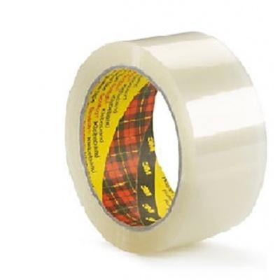 3M 309 Nehlučná balicí páska, 50 mm x 66 m, transparentní