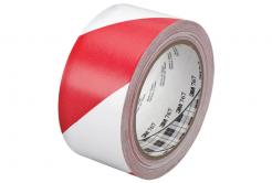 3M 767 PVC páska bílo-červená, 50 mm x 33 m