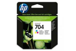 HP č.704 CN693AE farebná (color) originálna cartridge