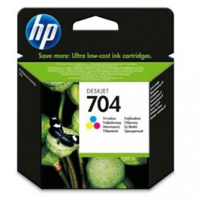 HP 704 CN693AE farebná (color) originálna cartridge
