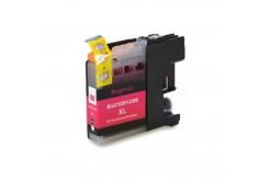 Brother LC-125XL/LC-127XL purpurová (magenta) kompatibilná cartridge