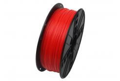 Gembird 3DP-ABS1.75-01-FR tisková struna (filament) ABS, 1,75mm, 1kg, fluorescenčná, červená
