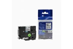 Kompatibilná páska s Brother TZ-241 / TZe-241, 18mm x 8m, čierna tlač / biely podklad