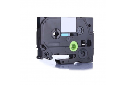 Kompatibilná páska s Brother TZ-FX232 / TZe-FX232 12mm x 8m, flexi, červená tlač / biely podklad