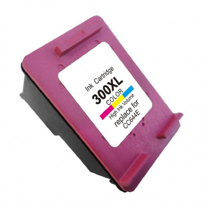 HP 300XL CC644E farebná (color) kompatibilna cartridge