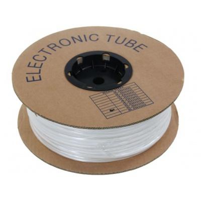 Popisovacia PVC bužírka kruhová BA-35, 3,5 mm, 200 m, biela