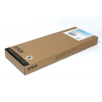 Epson T544500 svetle azúrová (light cyan) originálna cartridge