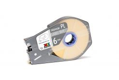 Partex PROMARK-PL060CN4, žltá samolepicí páska, 6mm, 30m