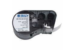 Brady MC-750-595-WT-BK / 143372, Labelmaker Tape, 19.05 mm x 7.62 m