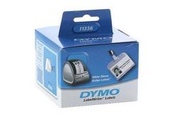 Dymo 11356, S0722560, 89mm x 41mm, bílé papírové štítky na jmenovky