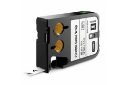 Dymo 1868806, 12mm x 5,5m, čierna tlač/biely podklad, originálna páska