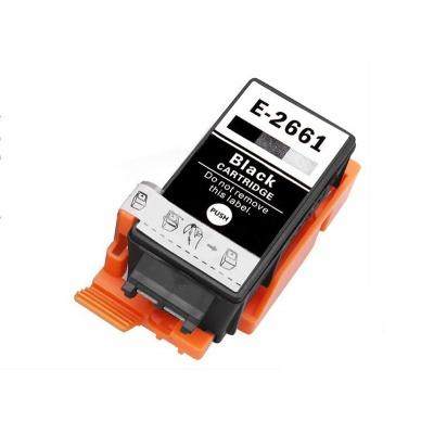Epson T2661 černá (black) kompatibilní cartridge