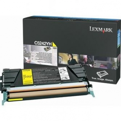 Lexmark C5242YH žltý (yellow) originálny toner