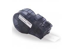 Brady M21-500-488 / 110935, polyester, 12.70 mm x 6.40 m, černý tisk / bílý podklad, kompatibilní páska