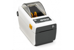 Zebra ZD410 ZD41H23-D0EW02EZ tlačiareň etikiet, 12 dots/mm (300 dpi), MS, RTC, EPLII, ZPLII, USB, BT (BLE, 4.1), Wi-Fi, bílá