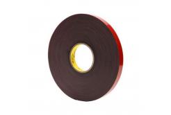 3M VHB 4611-F, 12 mm x 3 m, tmavošedá oboustranně lepicí akrylová páska, tl. 1,1 mm