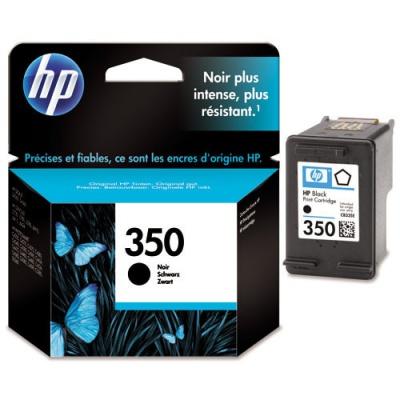 HP 350 CB335E čierna (black) originálna cartridge